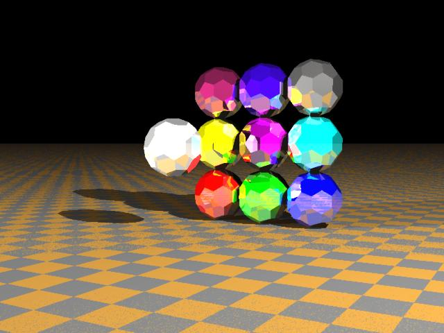 Graphical image of balls