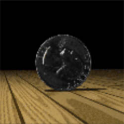 Graphical image of coin
