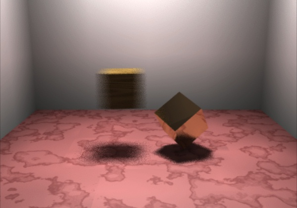 Graphical image of Colliding Cubes